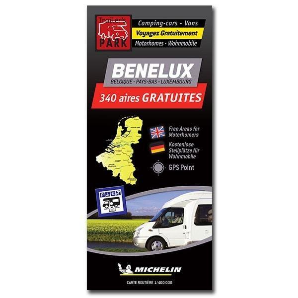 Kaart Aires Benelux
