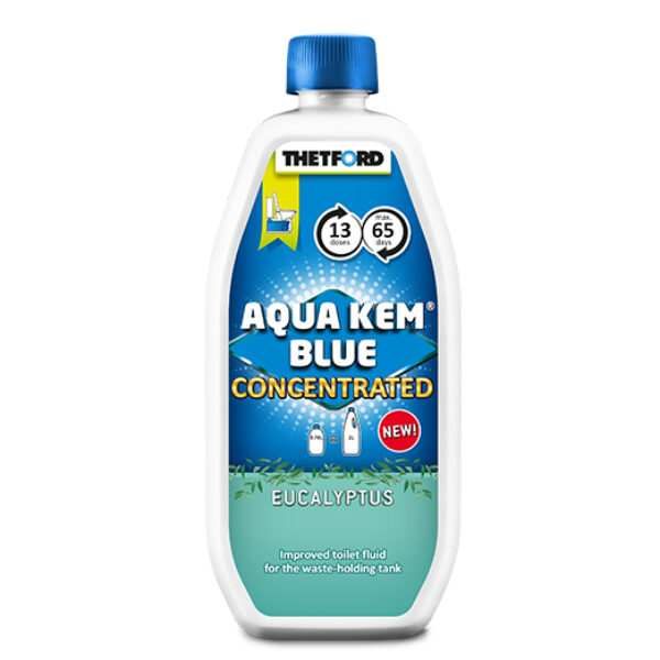 Thetford Aqua kem blue eucalyptus concentrated
